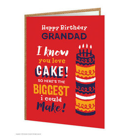 Brain Box Candy Card-Happy Birthday Grandad
