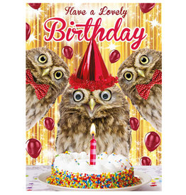 Tracks Have A Lovely Birthday Card