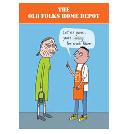 Clayboys Old Folks Home Depot Card
