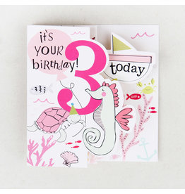 Paperlink 3rd Birthday Card