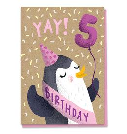 Stormy Knight 5th Birthday Card