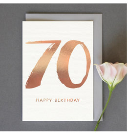 Card-Happy Birthday 70