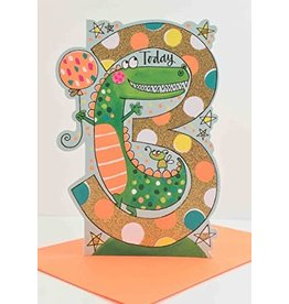 Rachel Ellen Designs Card-Crocodile Three Today