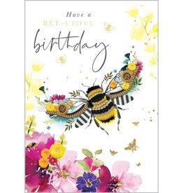 Abacus Card Ltd. Bee-utiful Birthday Card