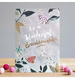 Card-To a Wonderful Granddaughter