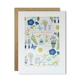 James Ellis Happy Birthday Gardening Shakies Card
