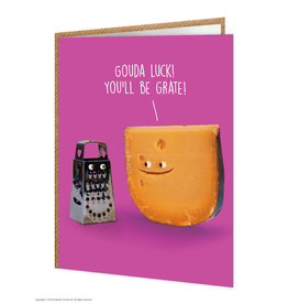 Brain Box Candy Card-Good Luck- Grate