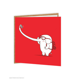 Brain Box Candy Card Selfie Elephant