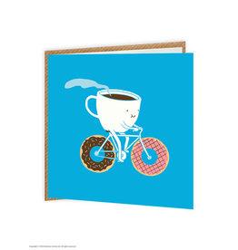 Brain Box Candy Card Coffee & Doughnuts