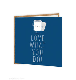 Brain Box Candy Card- Love What You Do