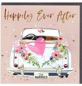 Belly Button Designs Happily Ever After Wedding Card