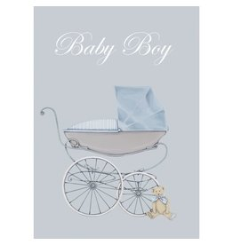 WRENDALE Baby Boy Welcome Card