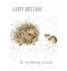 WRENDALE Card-Happy Birthday Lovely Friend