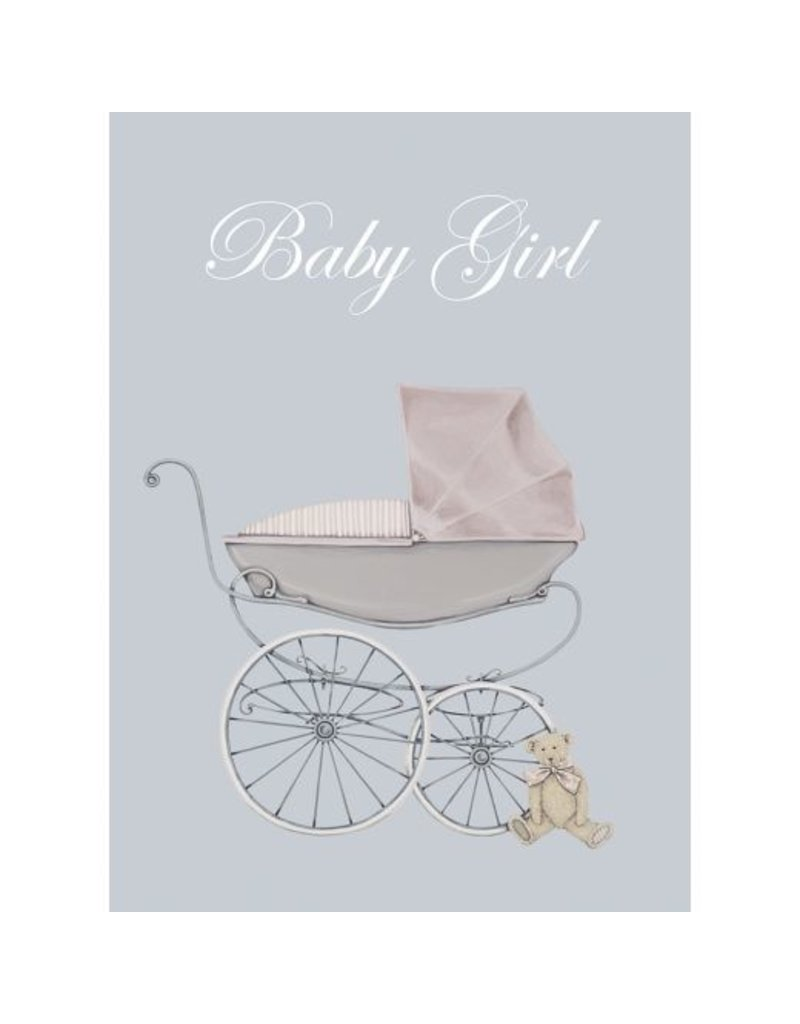 WRENDALE Baby Girl Welcome Card
