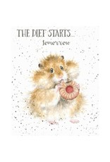 WRENDALE Card-The Diet starts tomorrow
