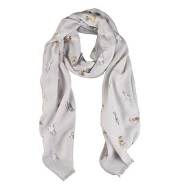 WRENDALE A Dogs Life Scarf by Wrendale