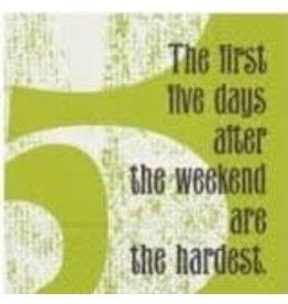 Design Design Napkins- The First Five Days