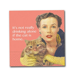 Design Design Napkins-Cat Is Home