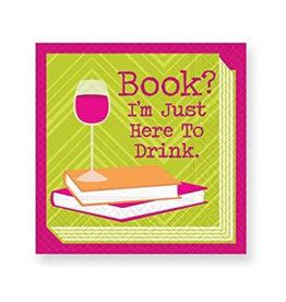 Design Design Napkins-I'm Here to Drink