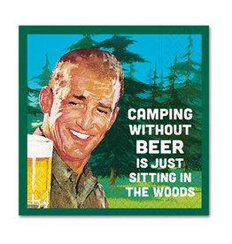 Design Design Napkin-Camping Without Beer