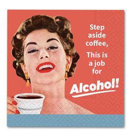 Design Design Napkin-Step Aside Coffee