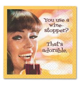 Design Design Napkin-Wine Stopper
