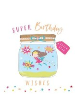 Belly Button Designs Card- Super Birthday