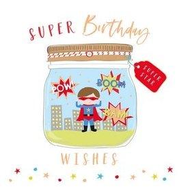 Belly Button Designs Card- Super Birthday