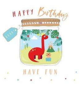 Belly Button Designs Card- Happy Birthday Have Fun