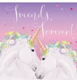 Belly Button Designs Card-Friends Forever-Unicorns