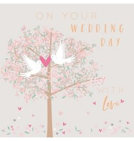 Belly Button Designs On Your Wedding Day Card