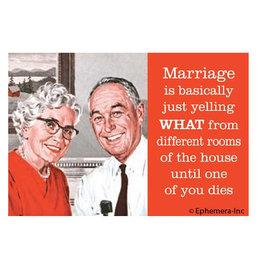 Ephemera Magnet-Marriage is Basically