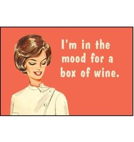 Ephemera Magnet- Box of Wine