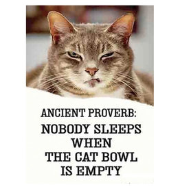 Ephemera Magnet-Ancient Proverb