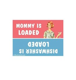 Ephemera Magnet-Mommy is Loaded