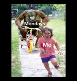 Ephemera Magnet-Mondays, Me Running