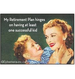 Ephemera Magnet-Retirement Plan
