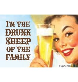 Ephemera Magnet-Drunk Sheep of The Family