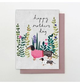 Stop The Clock Design Happy Mother's Day Card