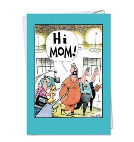 Noble Works Card-Mother's Day Hi Mom!