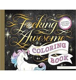 Raincoast Books F*cking Awesome Colouring Book