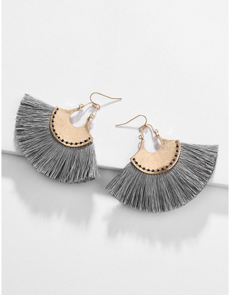 E&S Accessories Tassel Earrings (More Colours)