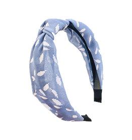 E&S Accessories Knotted Leaf Headband