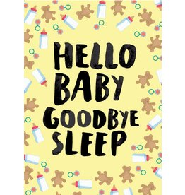 Cath Tate Cards Card- Goodbye Sleep