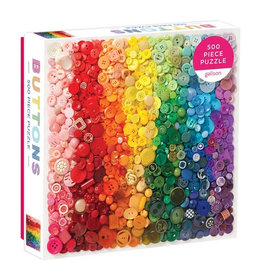 Galison Puzzle- Rainbow Buttons