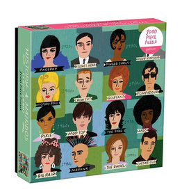 Galison Puzzle- History of Hairdos