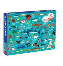 Galison Puzzle- Ocean Life