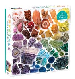 Galison Puzzle- Rainbow Crystals