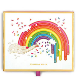 Galison Jonathan Adler Rainbow Puzzle