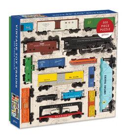 Galison Puzzle- Vintage Trains